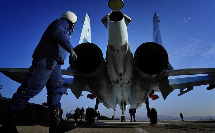 Потрясенные американцы удивлены «сумасшедшим» трюком Су-35