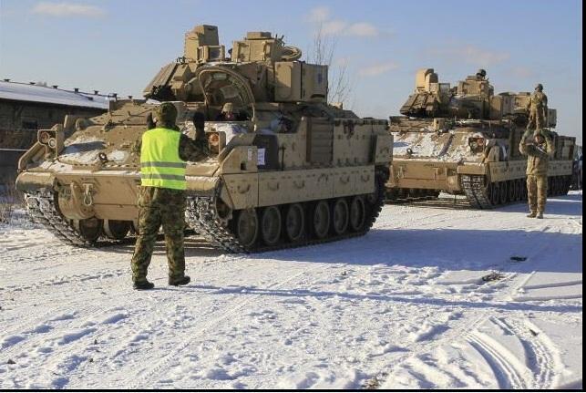 Близость танков США к Москве шокировала