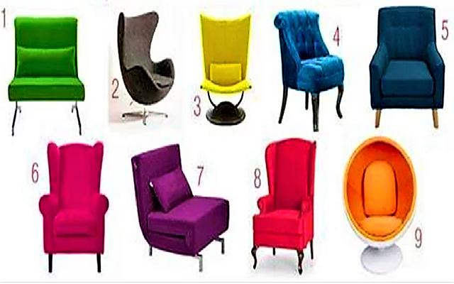 Тест на характер: выберите кресло и узнайте, какую роль вы играете по жизни