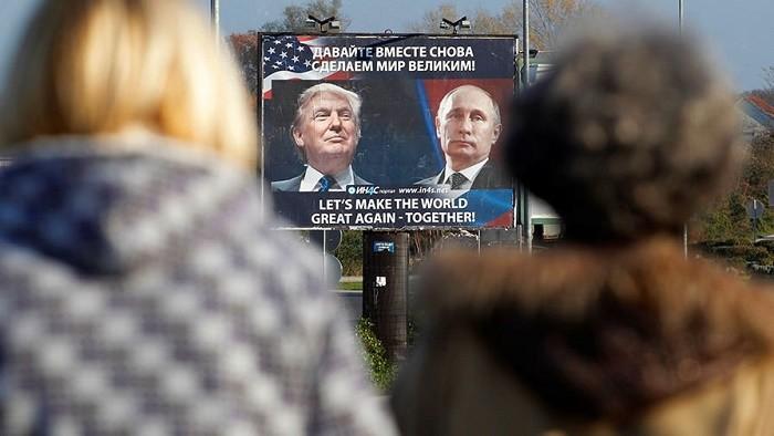 Путин и Трамп говорили по телефону