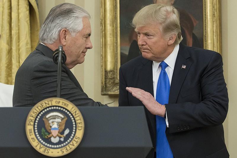 Трамп следил за пресс-конференцией Лаврова и Тиллерсона