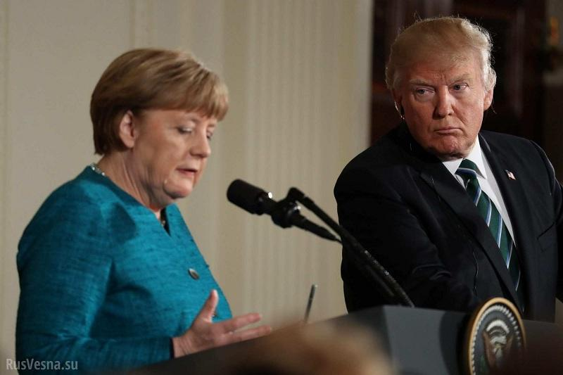 Трамп потерял дар речи, узнав о сумме «газовой» сделки Германии и России