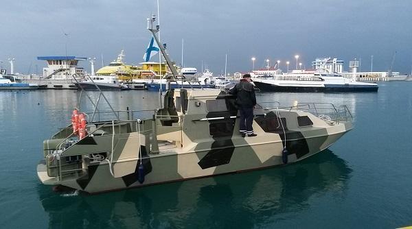 Украина пополнила группировку патрульных катеров в Азовском море