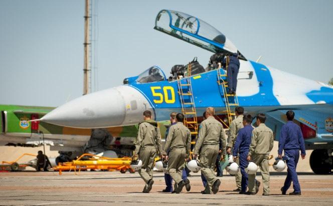 Разбившийся на Украине Су-27 был непригоден для полетов
