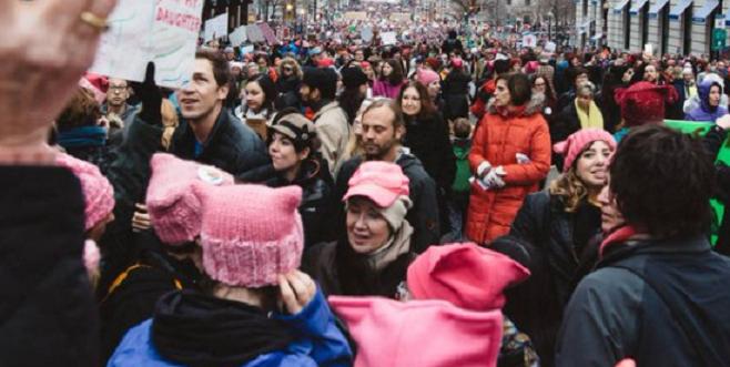 марш феминисток