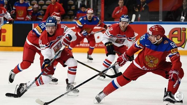ЧМ по хоккею 2017, матч Россия-Канада