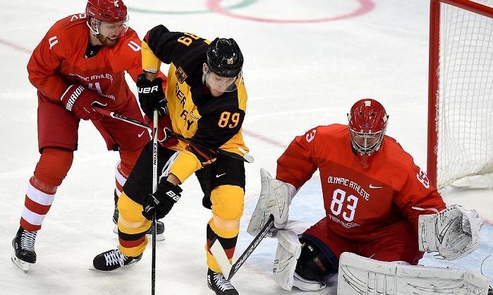 Россия-Германия, финал по хоккею на ОИ 2018, все голы