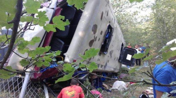 Автобус упал в Керченский пролив 25 августа, погибли 13 человек