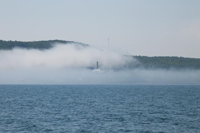 Таинственный объект снят на озере в Северной Америки