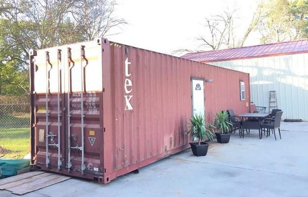 Невзрачный снаружи - потрясающий внутри: дом из обычного контейнера