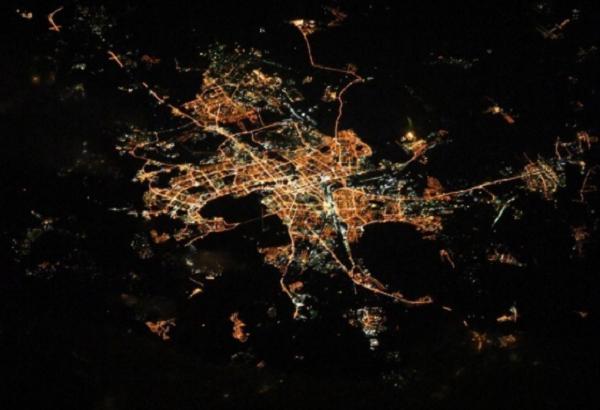 Фото Челябинска из космоса набирает популярность в интернете