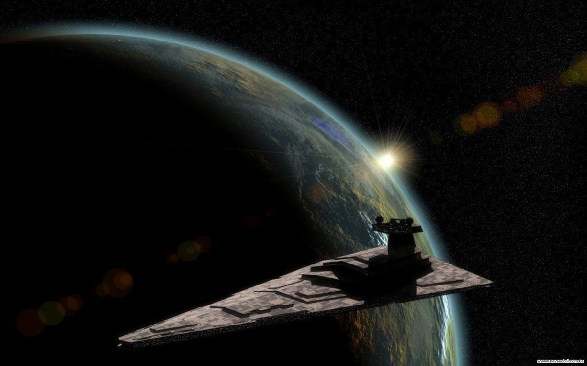Вweb-сети интернет появился ролик полета НЛО над Луной