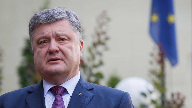 Порошенко назвал газопровод «Северный поток – 2» троянским конем Кремля