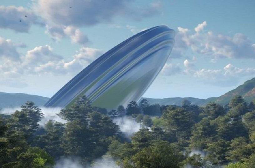 В Африке обнаружили упавшую летающую тарелку