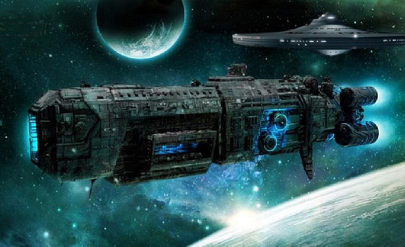 Инопланетный корабль, курсирующий рядом с Землей, потряс уфологов