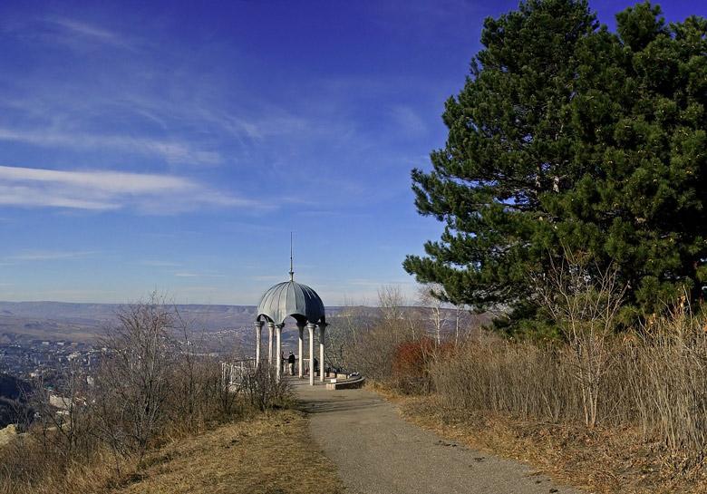 До конца года будет отремонтирована Видовая беседка в Кисловодске