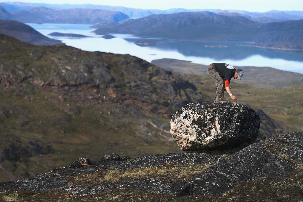 ВГренландии найдены следы древней жизни