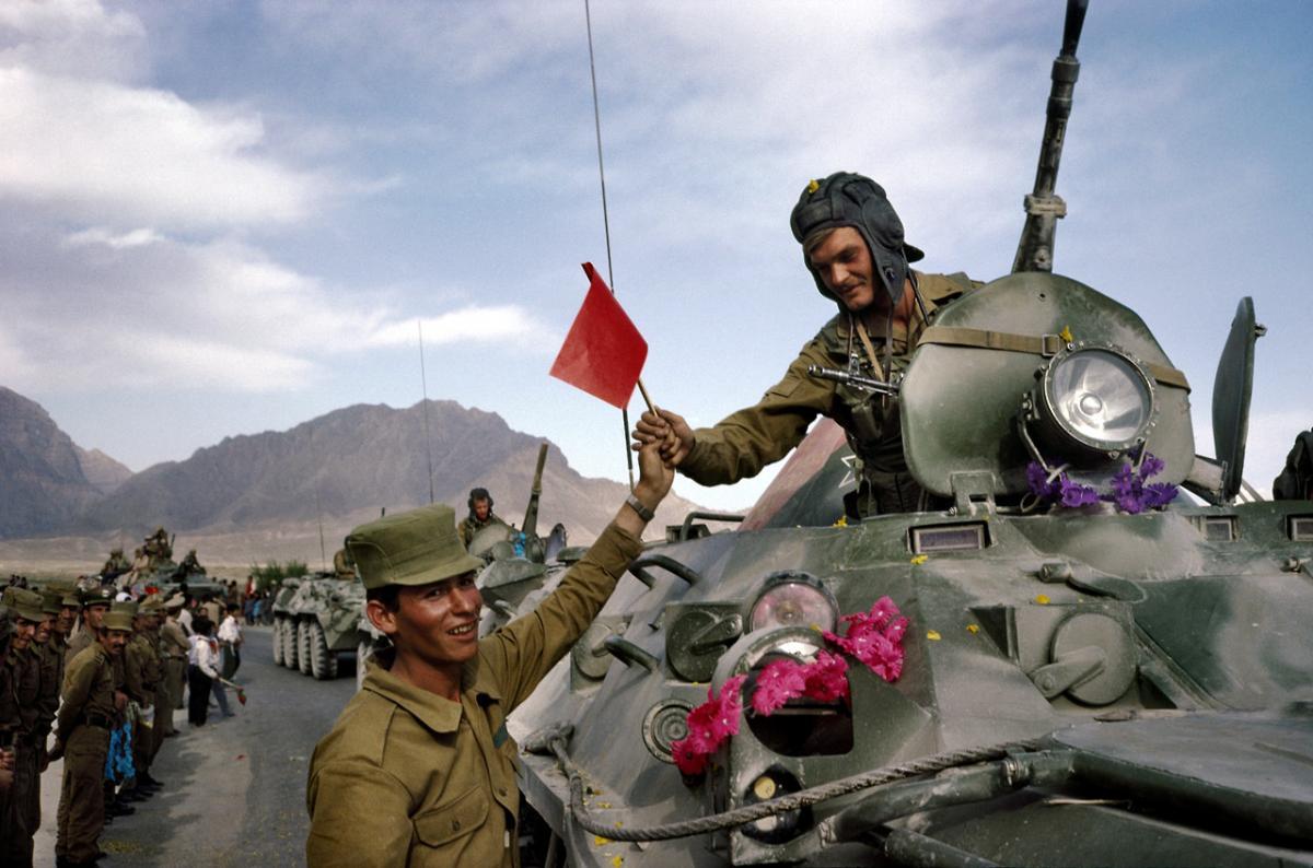 Советская армия в афганистане фото