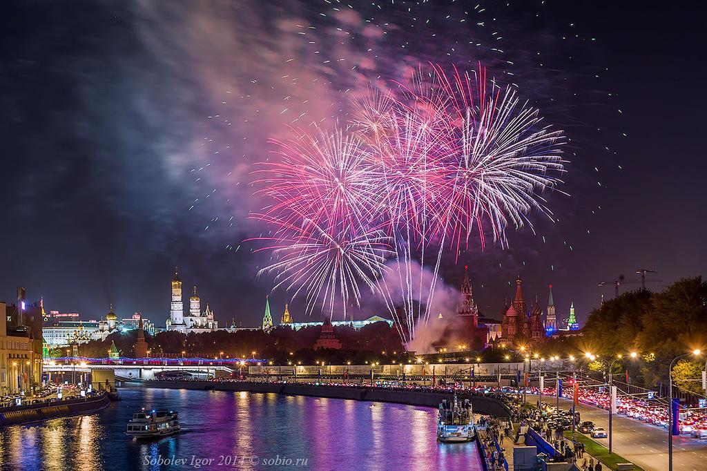 Салют в Москве на День города 2018: где и в какое время состоится, список площадок