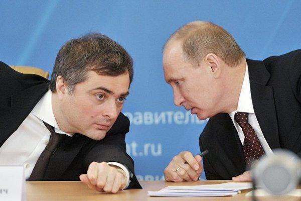 «Россия – большая политическая машина Путина», – Сурков