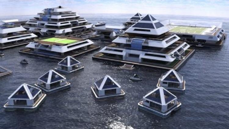Мировая элита готовится к Судному дню: начато строительство уникального плавучего города семейства Ротшильдов