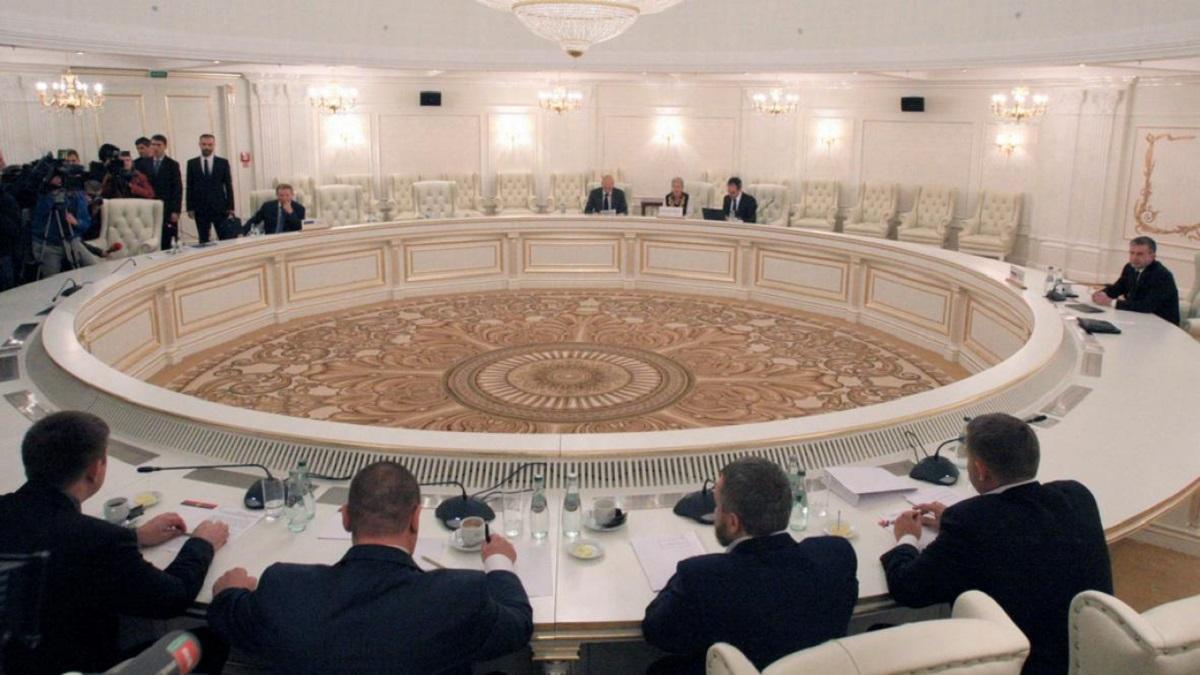 Заседание контактной группы по Донбассу