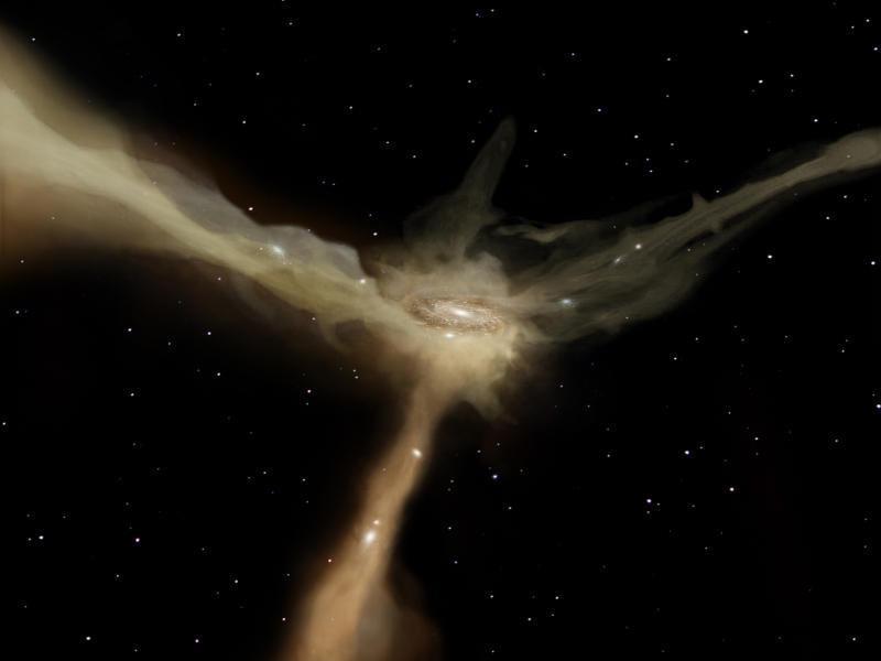 Ученые нашли Мрачного двойника Млечного Пути
