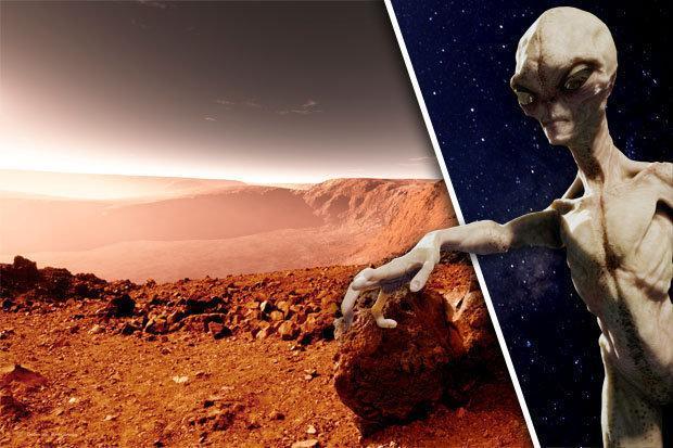 Google Space продемонстрировал фотографии космической базы наМарсе, построенной пришельцами