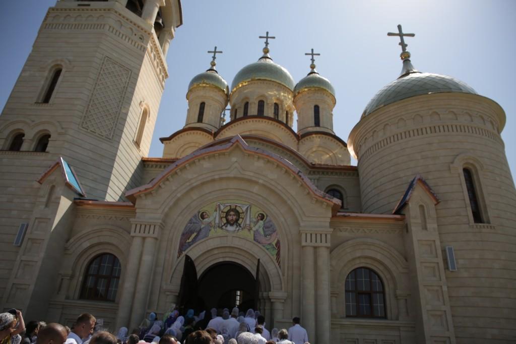 Освящение собора в Ставрополе
