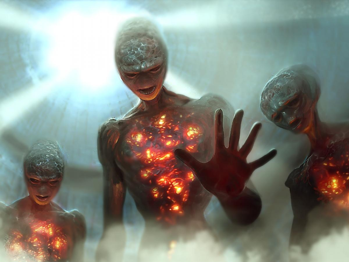 Атака пришельцев: Нострадамус предсказал вторжение инопланетян в следующем году