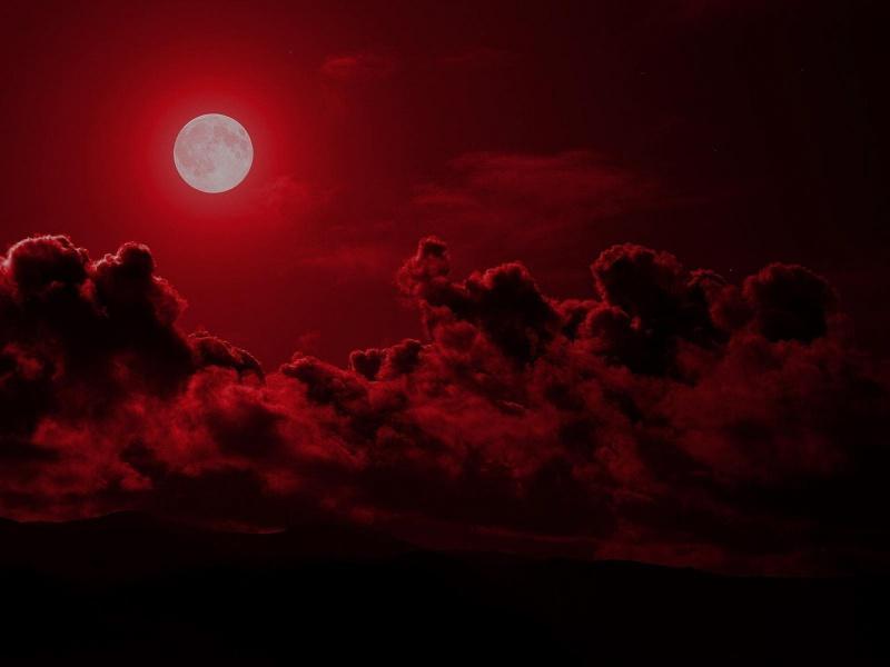 является кровавое затмение луны картинки задней панели стекло