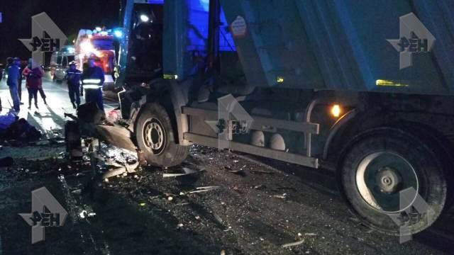 В результате страшной аварии в Чувашии погибли 12 человек