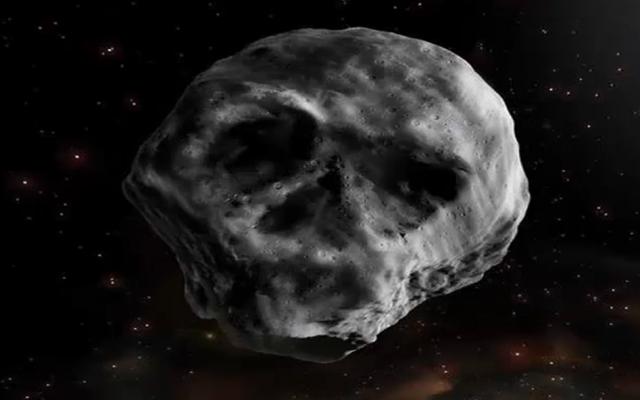 Пугающий астероид в форме черепа сблизится с Землей через неделю после Хеллоуина