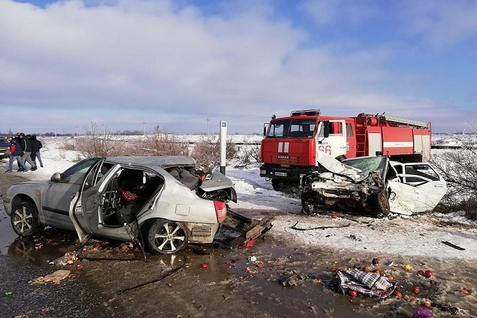 На Ставрополье страшная авария унесла две жизни