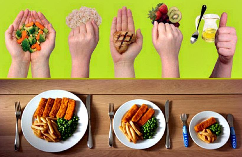 Похудение с помощью рук: ученые рассказали,  как рассчитать идеальную порцию еды