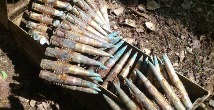 В Калининграде нашли оружие ВОВ