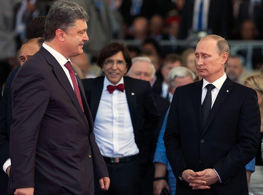 Путин еще неопределился попрекращению огня наДонбассе с1сентября