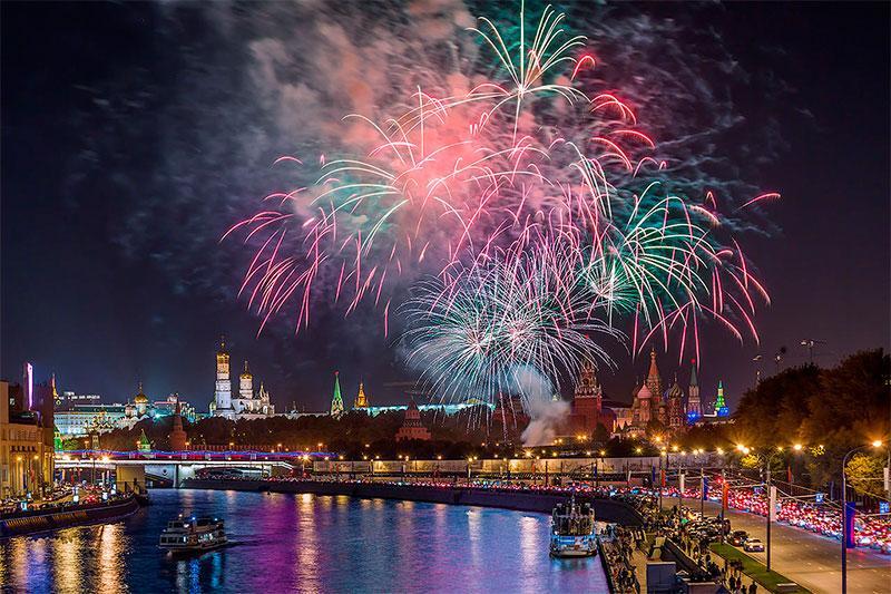 День города в Москве 2017: салют, в каких точках состоится, список адресов, время проведения
