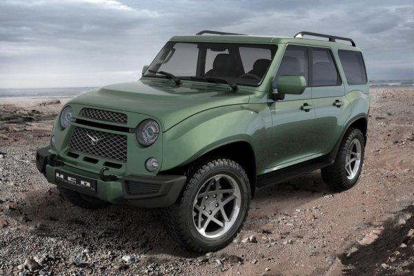 Новый кроссовер УАЗ-3170 готов к старту: озвучена дата появления компактного внедорожника