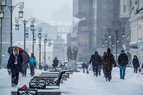 Р.Вильфанд: Праздник Крещения в российской столице пройдет при порывистом ветре иметели