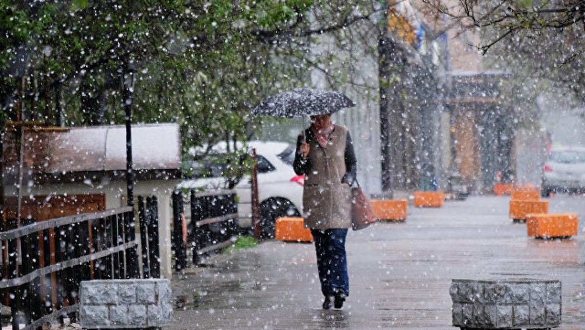 В Гидрометцентре рассказали, когда мокрый снег придет в Москву