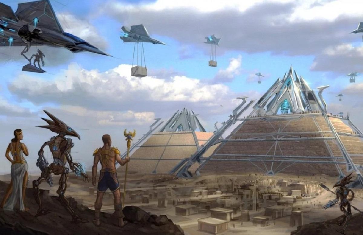 Египтяне – потомки инопланетян: уфолог нашел доказательство на Марсе