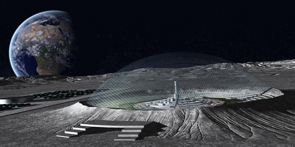 На Луне найдено куполообразное инопланетное судно – уфолог