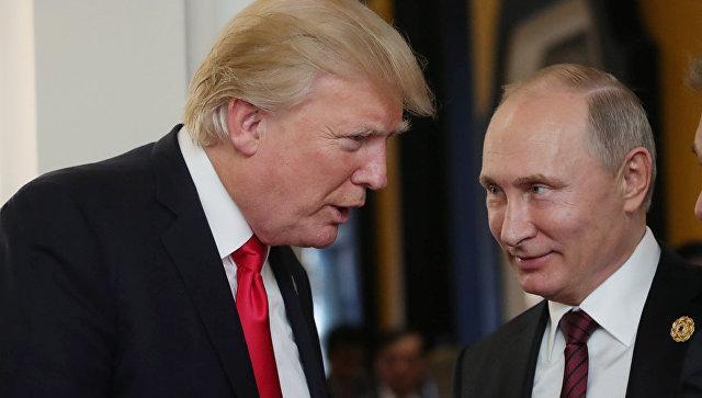 Путин и Трамп обсудили инцидент в Керченском проливе в ходе неформальной встречи