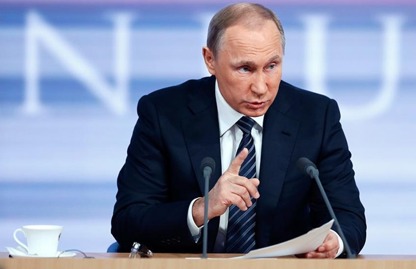 Ежегодная пресс-конференция Путина 2017: что сказал президент по Донбассу