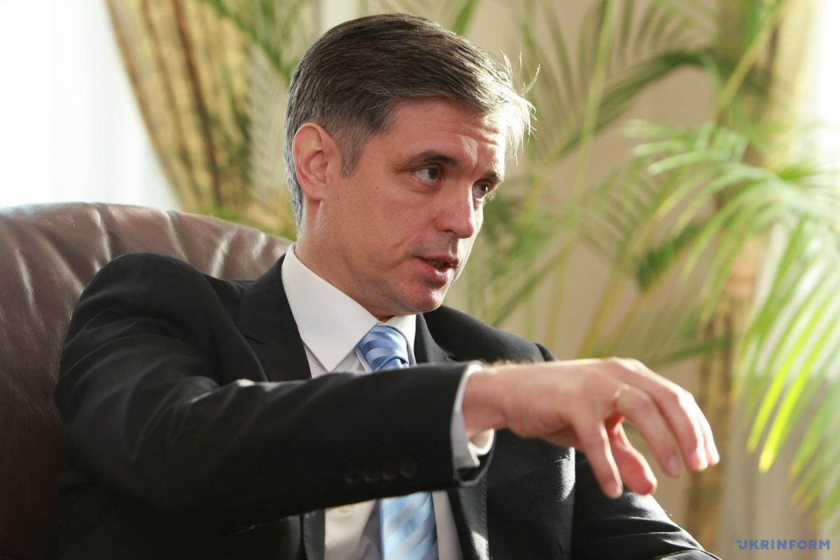 Глава МИД Украины назвал условие отмены блокады Донбасса