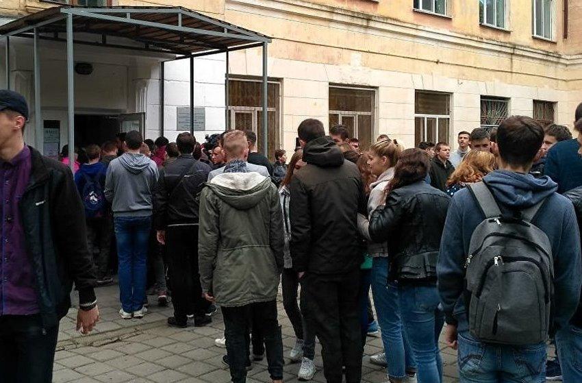 Керченский колледж, занятия возобновлены
