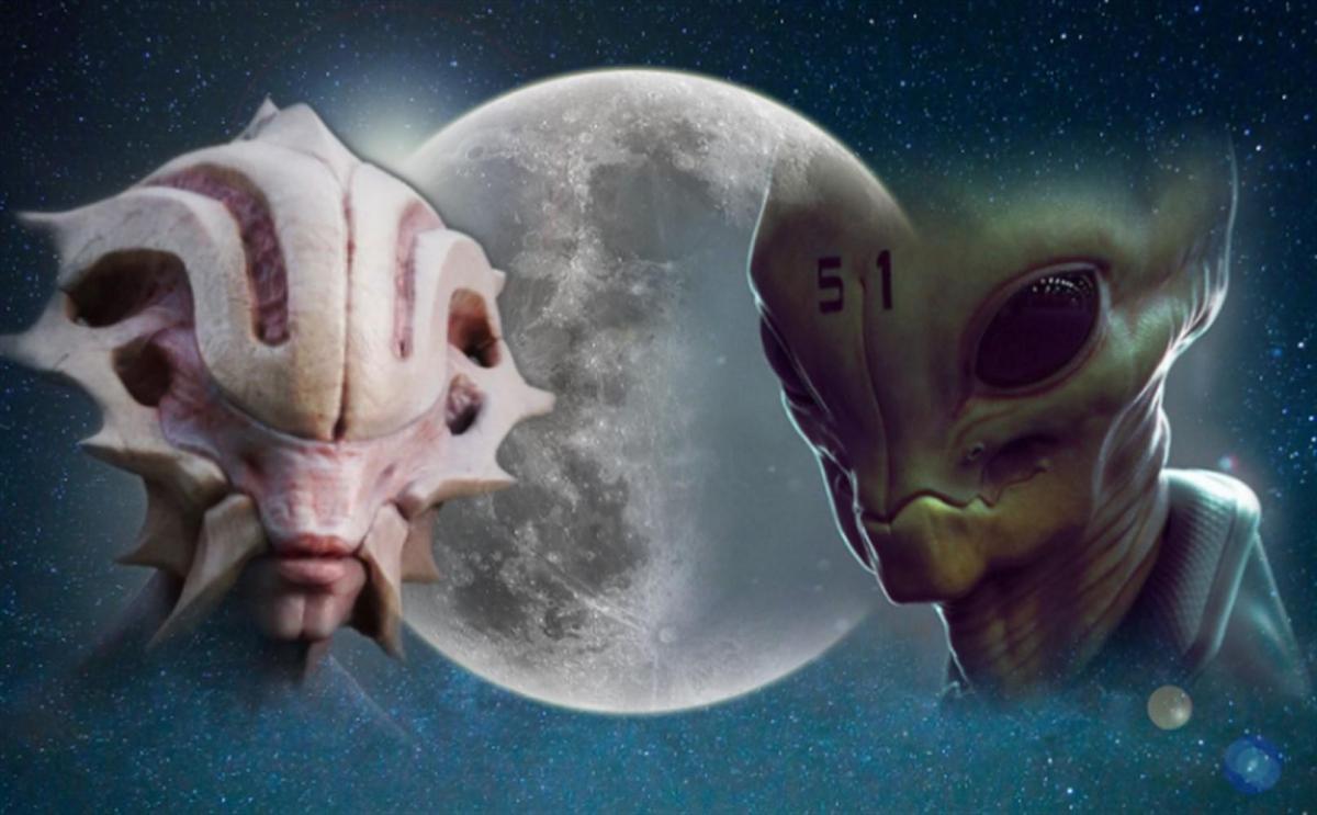 На Луне обнаружены восемь инопланетных баз – ученые