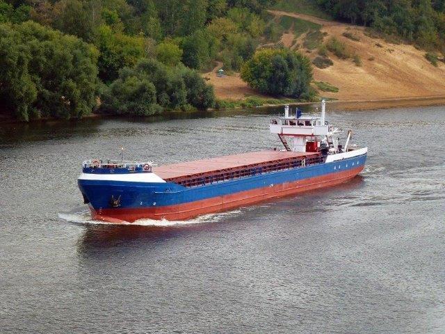 В Ростовской области столкнулись два сухогруза с зерном