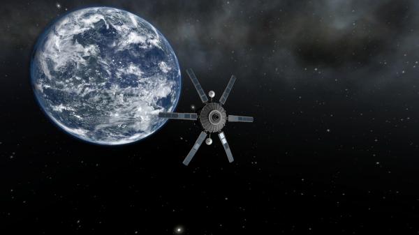 Ученые: наЗемлю может рухнуть советский космический спутник